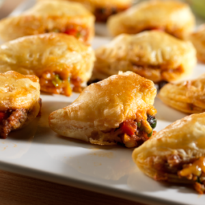 Mex Beef puff pasty
