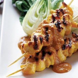 satay chicken skw