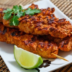 Tandoori Chicken Skewer