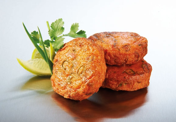 mini thai fish cakes